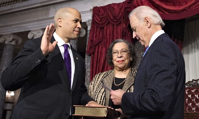 CB Sworn in Senate