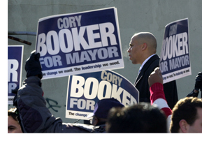 Cory Booker Signs
